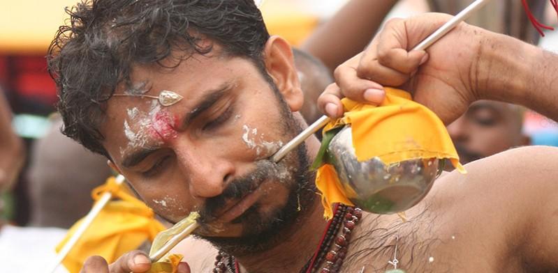 Thaipusam festival in Malaysia