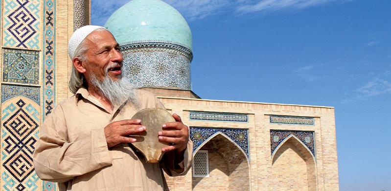 Local man in Uzbekistan
