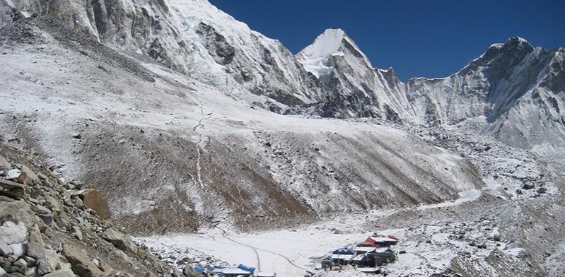 Gorakshep en route to Everest Base Camp Nepal