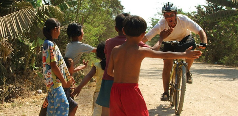 Cycling in Indochina photo by Vicki Frater
