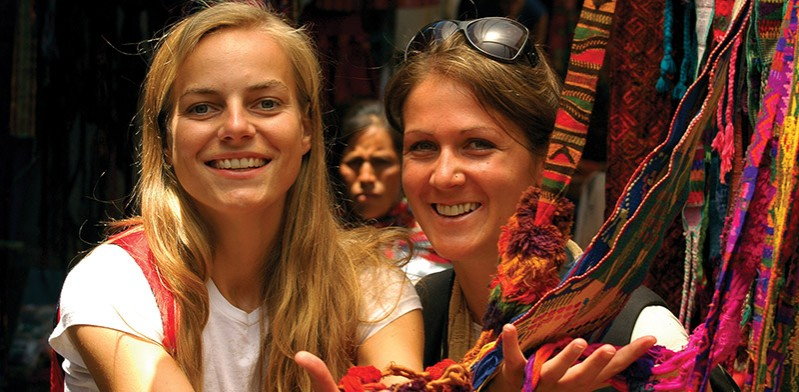 Meeting new travel friends in Mexico
