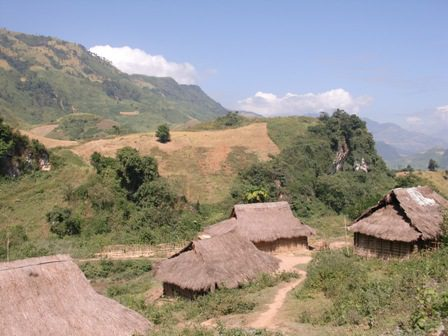 Village in Dien Bien Province