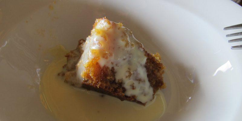 malva pudding (credit Jennifer Martinez)