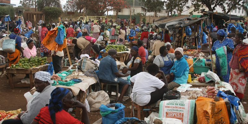 Loitokitok market, Kenya (credit Kerri Lee Smith)