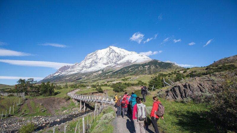 Trekking in Patagonia, Chile