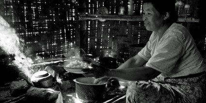 A homecooked meal in Burma: one of life's simplest wonders