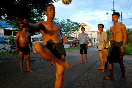 A guide to playing chinlone like a Burmese professional