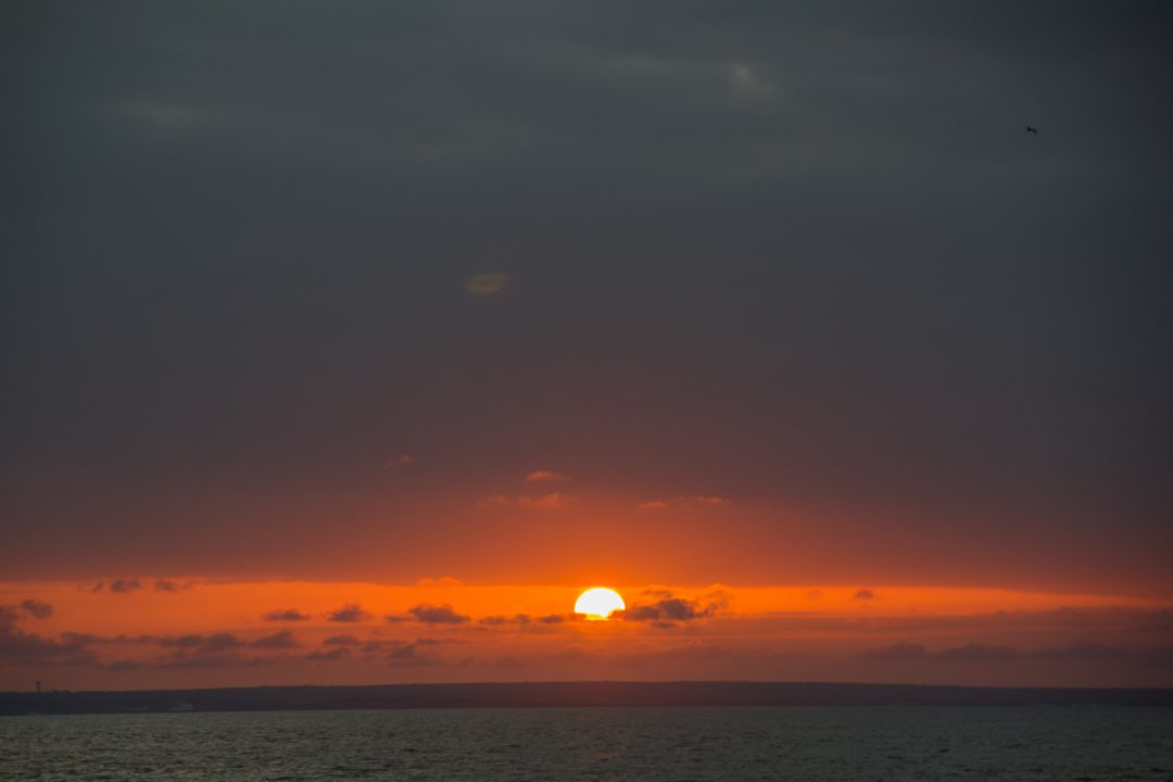 Galapagos Islands sunrise