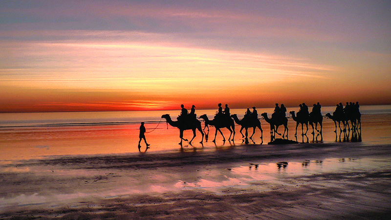 world's best beaches -A Cable Beach sunset. They don't get much better. Image Dedi Sharabi, Flickr