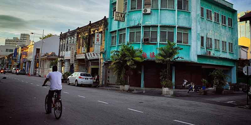 The streets of Penang. A foodie goldmine. Image Basil Strahm, Flickr