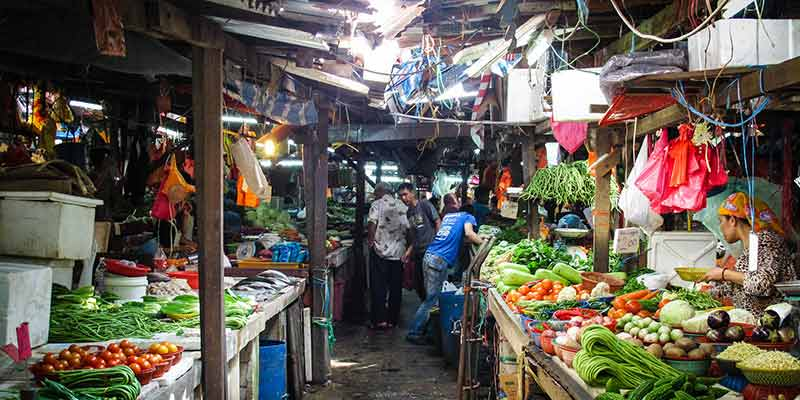 Malaysia's food markets - where the magic happens. Image Tomscoffin, Flickr