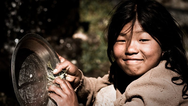 This is the real face of Nepal. Image Eric Montfort, Flickr