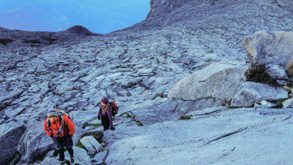 'The mountain is the mountain, tomorrow is tomorrow.' Reflections from Mt Kinabalu
