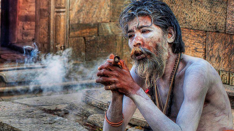 A Sadhu holy man in Kathmandu. Image Mike Behnken, Flickr