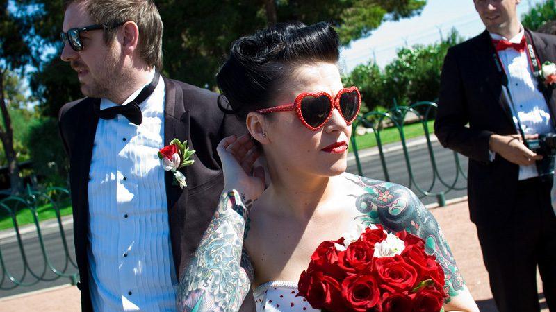 What happens in Vegas stays in Vegas. Except marriage. Image Adam-Wilson