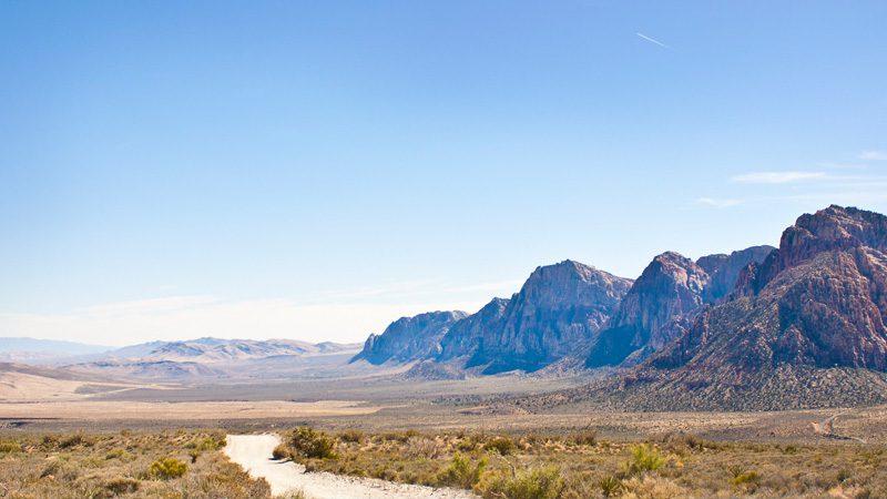 Red Rock Canyon, just outside Vegas. Image Alex Bellink, Flickr