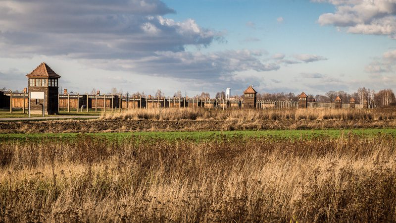 The fields of Birkenau. Image Mattia Panciroli, Flickr