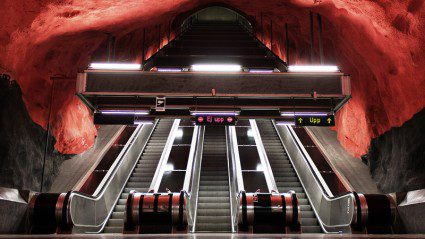 """Going deeper underground: subway stations that will make you think """"wow that's a really cool subway station!"""""""
