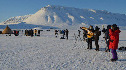 Total eclipse of the heart: one traveller's astronomy quest in Svalbard