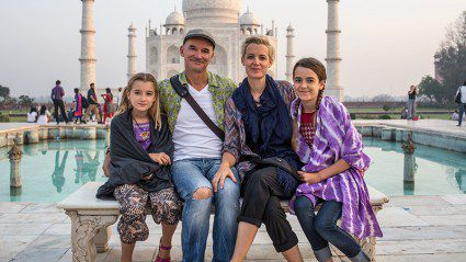 Meet the ridiculously talented family that travels for a living