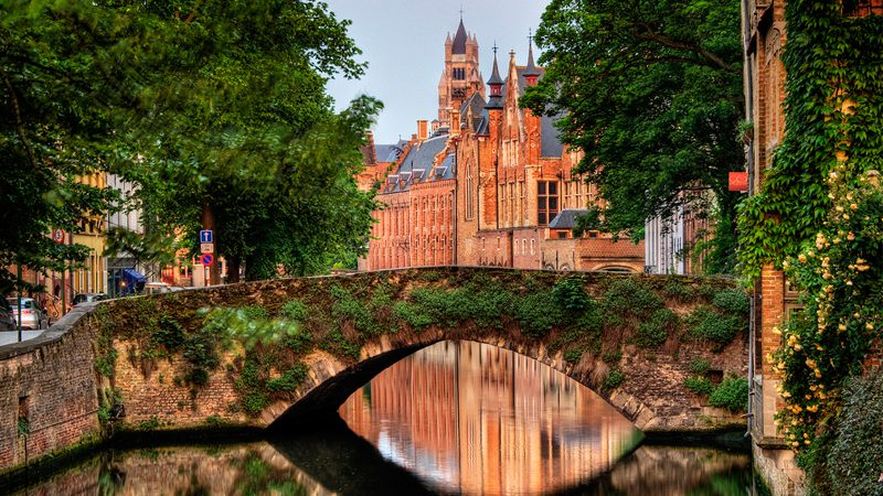Bruges. It's in Belgium. Image: Wolfgang Staudt, Flickr. Quote: In Bruges, excellent movie.