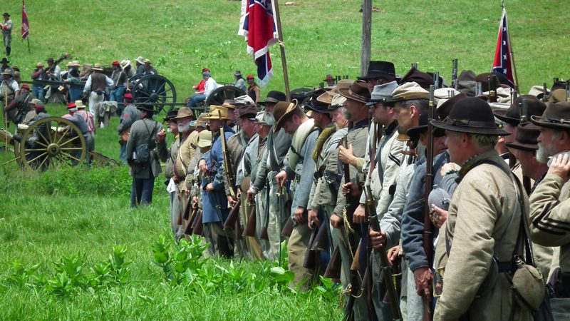 gettysburg-reenactment---credit-S-Pakhrin