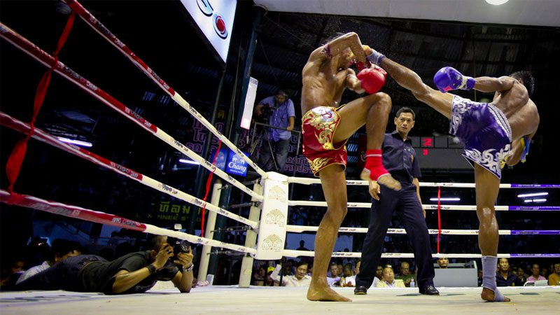 thai-boxing - aaron frutman
