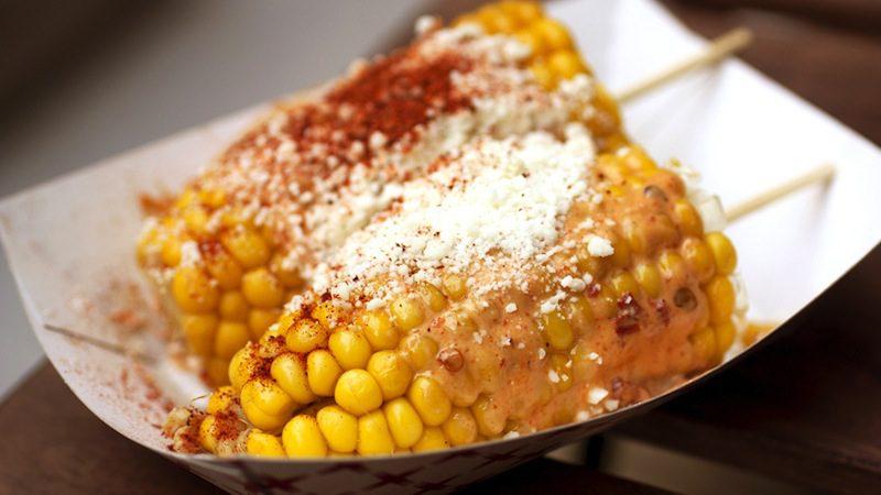 mexican street foods -elote c:o bionicgrrrl Flickr