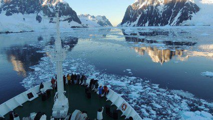 This traveller got the coolest Antarctic experience we've ever seen