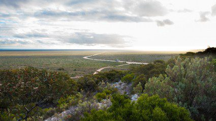 Meet the couple that crossed the Nullarbor in an old Corolla