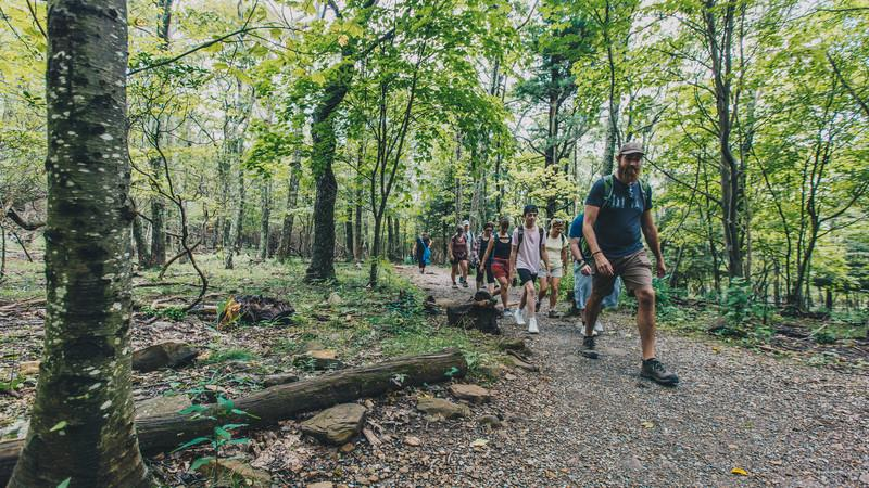 Trekking the Appalachian Trail