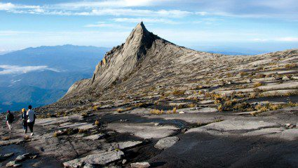 What it's actually like to climb the via ferrata on Mt Kinabalu