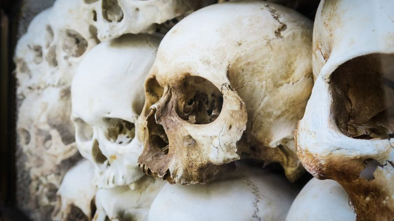 Dark tourism sites - Cambodia killing fields