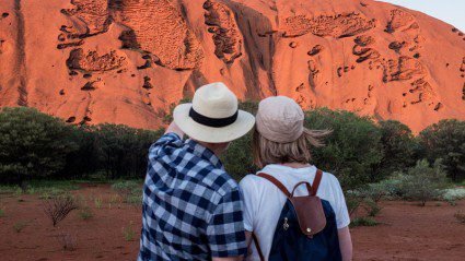 Travelling with my parents in Australia's Red Centre