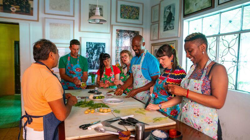 Cooking class in Oaxaca
