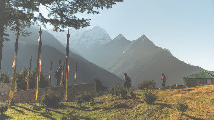 Trekking Everest with a group tour sceptic