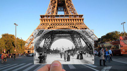 Paris then and now: is this the best photo mashup ever?