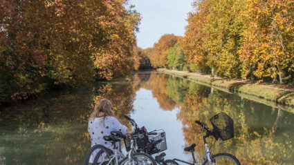 This is what it looks like to cruise the Canal du Midi