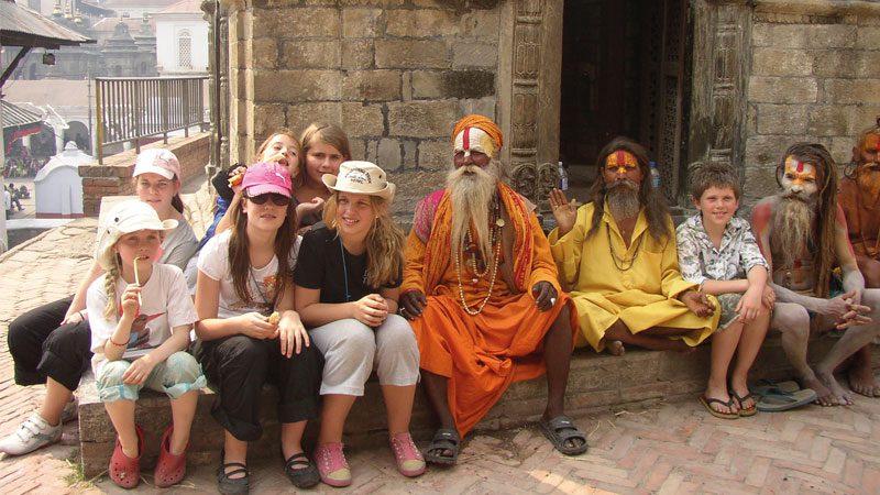 Family travel in-Nepal---Intrepid