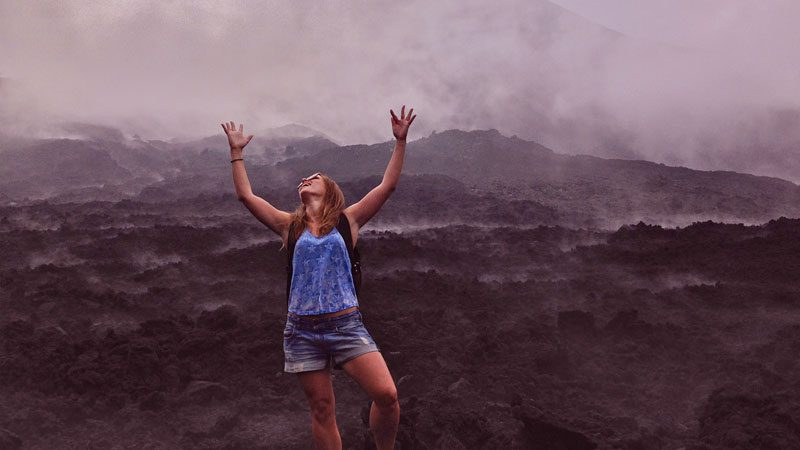 Solo travel, volcano-in-Guatemala---Wanderlust-Chloe
