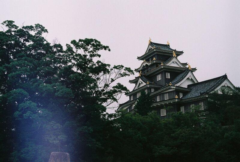 Japan castle on film - Gemma Saunders