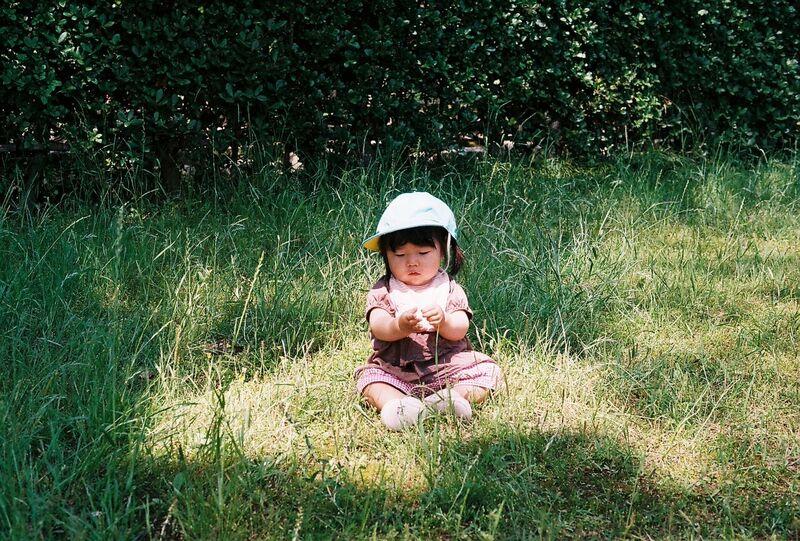 Japan little girl on film - Gemma Saunders