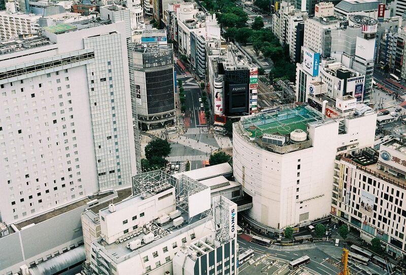 Japan Tokyo view on film - Gemma Saunders
