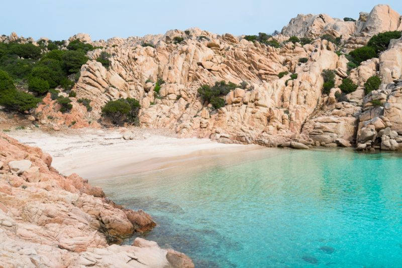 Sardinia Cala Coticci Caprera Island