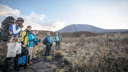 Climbing Kilimanjaro with blind athlete Dan Berlin