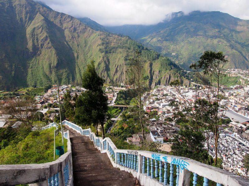 Banos hiking Ecuador