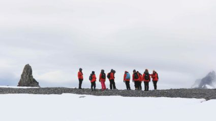 Meet the female scientists kicking goals in Antarctica