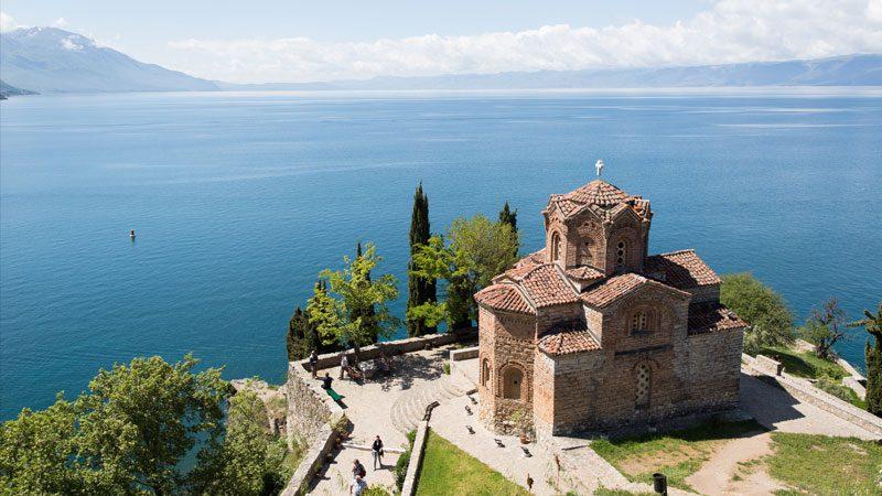 Macedonia food Lake Ohrid Intrepid Travel