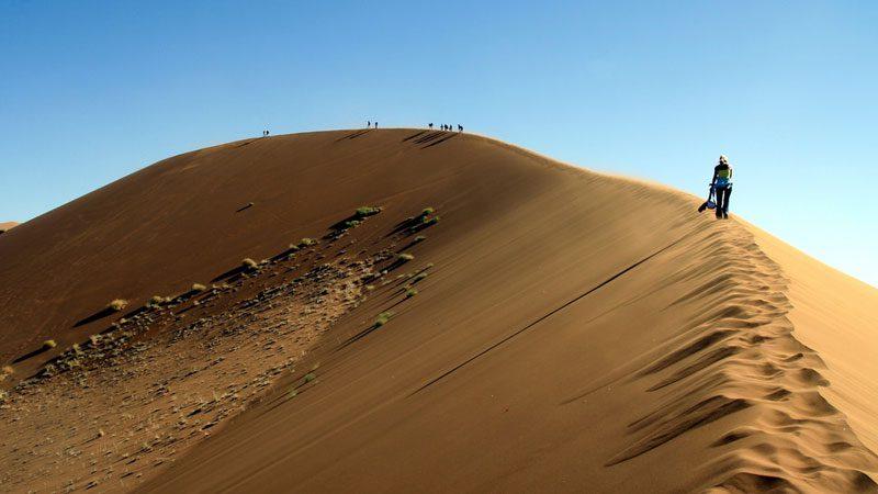 Namibia Sossusvlei Dune 45 sunset
