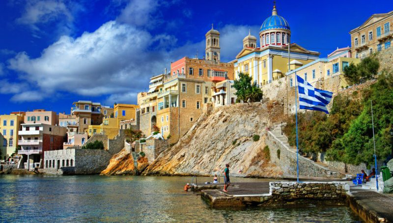 Syros isand, Greece